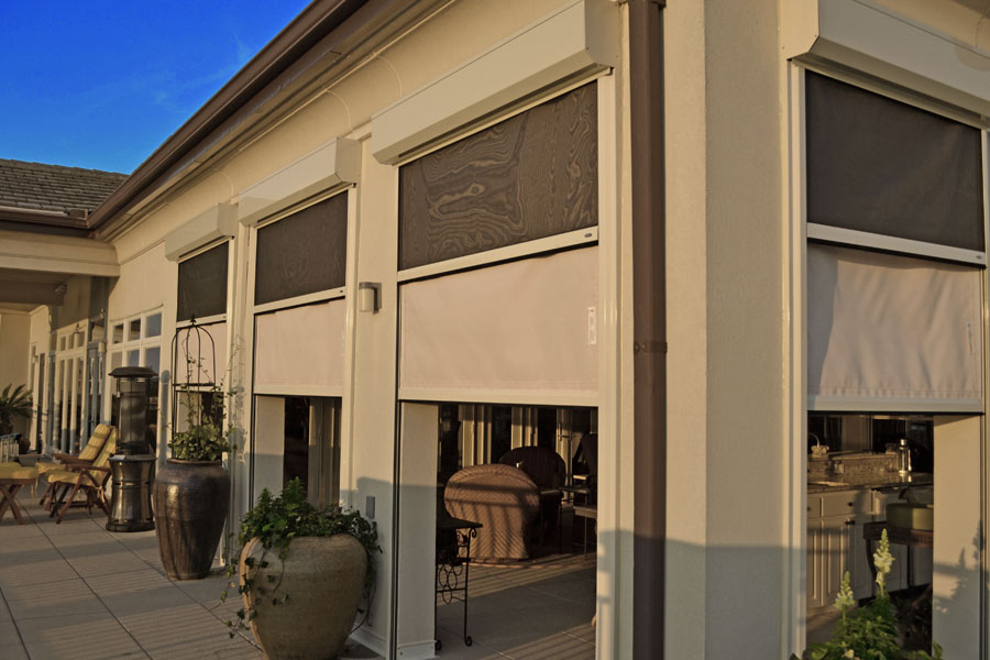 power dual patio screens